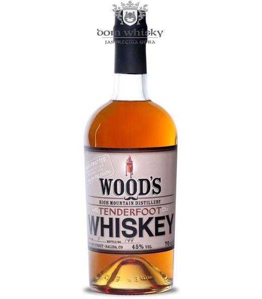 Wood's Tenderfoot Whiskey / 45% / 0,7l