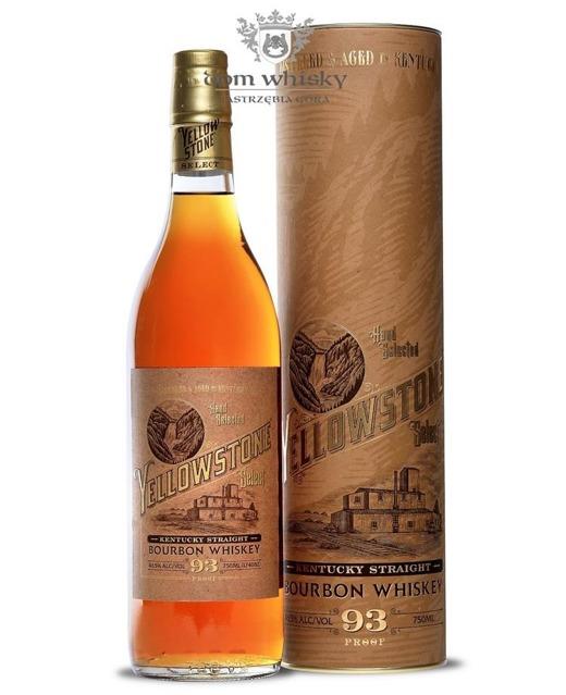 Yellowstone Select Bourbon Whiskey / 46,5% / 0,75l