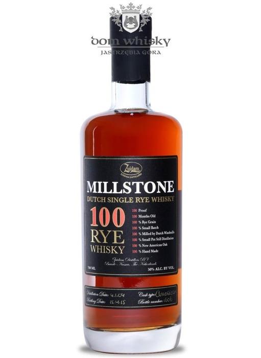 Zuidam Millstone 100 Rye Whisky (Holandia) / 50% / 0,7l