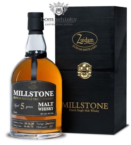 Zuidam Millstone 5 letni American Oak (Holandia) / 40% / 0,7l
